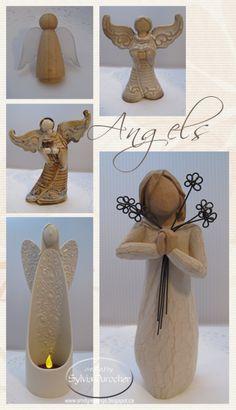 SMD Paper Arts: Mosaic Monday - Angels
