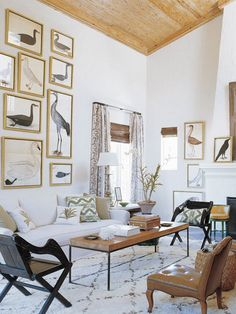 Exotic Living Room   Photo Gallery: Montana Burnett's Favourite Spaces   House & Home   Photo by William Waldron via Elle Decor