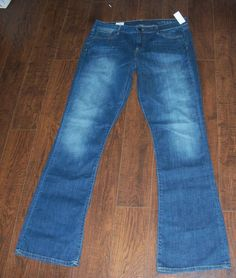 NWT GAP 1969 SKINNY BOOT JEANS, SZ 33/16T. EXCELLENT CONDITION! #GAP #BootCut