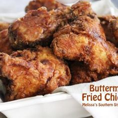 Buttermilk Fried Chicken