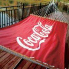 Coca Cola canopy...
