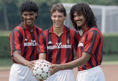 Frank Rijkaard, Marco Van Basten and Ruud Gullit