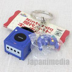 Nintendo Game Console History Miniature Figure Key Chain Game Cube JAPAN #Banpresto