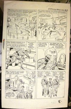 JACK KIRBY & STEVE DITKO Original Comic Art TALES TO ASTONISH #50 Pg 6 ANTMAN