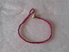Slim Red fishtail bracelet