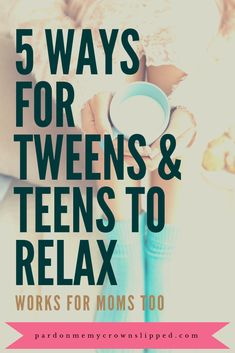 Help Tweens and Teens Slow Down and Relax Is your tween or teen stressed out from too many activities? Try these techniques to help tweens and teens slow down and relax. Parenting Teenagers, Parenting Advice, Raising Teenagers, Funny Parenting, Parenting Styles, Parenting Quotes, Teen Stress, Ways To Relax, Relax Relax