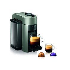 Nespresso GCC1-US-GR-NE VertuoLine Evoluo Coffee and Espresso Maker, Grey * Want additional info? Click on the image.