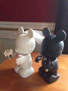 Bride & Groom Disney Vinylmation