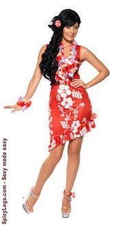 cute hawaiian beauty adult costume for powerplays beach themed youth night lock in on june