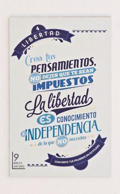4- Libertad.#reflexiones #infografia