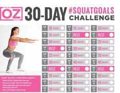 my weightloss journey: Dr Oz's 30 Day Squat Challenge healthandfitnessn… my weightloss journey: Dr Oz's 30 Day Squat Challenge healthandfitnessn… – 30 Days Workout Challenge Fitness Workouts, Fitness Herausforderungen, Health Fitness, Song Workouts, Cheer Workouts, Morning Workouts, Fitness Routines, Men Health, Fitness Plan