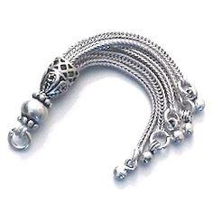 Turkish Sterling Silver Tassel