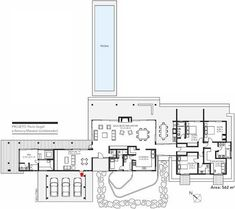 My dream - by Casa Abril Villa Plan, International Style, San Clemente, House Floor Plans, Cabana, Interior And Exterior, Building A House, Layout, House Design