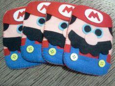 Capinhas Diversas - Mario Bros