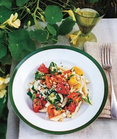 Rebecca Miller's Pasta With Ricotta and Heirloom Tomatoes Recipe