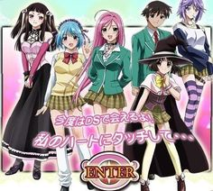 Rosario + Vampire(anime/manga completed): TV-MA This was an interesting story. A boy wasn't able to get into high school, but he enrolled accidentally to a monster high school. Rosario Vampire Season 2, Rosario Vampire Anime, Vampire Photo, Monster High School, Alucard, Anime Japan, Manga Characters, Digimon, Me Me Me Anime