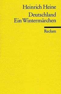 Deutschland ein Wintermärchen. by Heinrich Heine