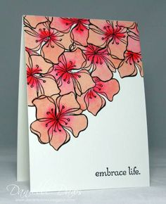 Embrace Life Again by ddaws - Cards and Paper Crafts at Splitcoaststampers
