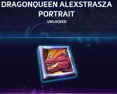 DRAGONQUEEN ALEXSTRASZA PORTRAIT