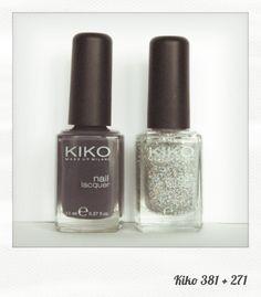 J'adore cette association. Voilà, c'est dit, vous êtes au courant.  Le 381 fait partie de la nouvelle collection Kiko pour le printemps. ...