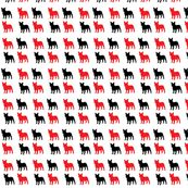 french_bulldog-ed by d-shoemaker, Spoonflower digitally printed fabric, wallpaper, and gift wrap