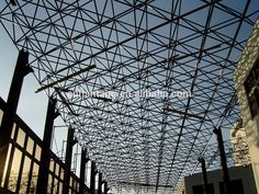 Medical College Canopy Steel Space Frame Roof System Building In ...