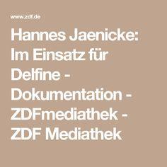 Hannes Jaenicke: Im Einsatz für Delfine - Dokumentation - ZDFmediathek - ZDF Mediathek