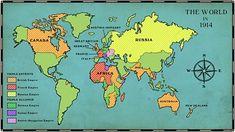 World War One - KS2 History - BBC Bitesize Italian Empire, French Empire, Elizabeth Ii, Bbc Schools, Triple Entente, Triple Alliance, Primary History, Teaching History, Social Studies Activities