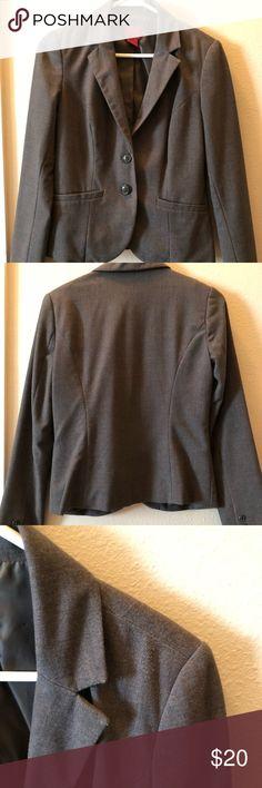 Gray Blazer Work Blazer 212 Collection Jackets & Coats Blazers