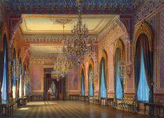 The Russian mansion of von Stieglitz: The Supper-room. 1871
