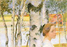Lisbeth and Birches
