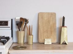 FUTAGAMI Brass Tool Holder-that knife block!