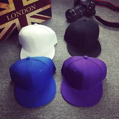 wholesale summer cap men women Hip hop Retro Pure color Baseball cap Plain cap Slidingsnapback  cap♦️ B E S T Online Marketplace - SaleVenue ♦️👉🏿 http://www.salevenue.co.uk/products/wholesale-summer-cap-men-women-hip-hop-retro-pure-color-baseball-cap-plain-cap-slidingsnapback-cap/ US $3.23