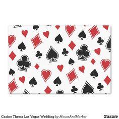 Shop Casino Theme Las Vegas Wedding Tissue Paper created by MouseAndMarker. Casino Wedding, Las Vegas Weddings, Casino Tattoo, Wedding Tissues, Casino Theme, Wedding Matches, Wedding Supplies, Wedding Guest Book