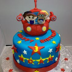 Fantastic 37 Best Little Einstein Cakes Images Little Einsteins Cake Funny Birthday Cards Online Alyptdamsfinfo