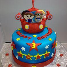 """Little Einsteins 8"""" round Birthday Cake"""
