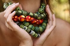 wonderful beads by Eva Haskova