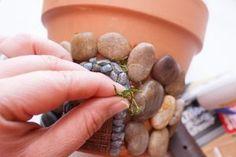 Fairy Door Clay Pot Planter Is An Easy DIY