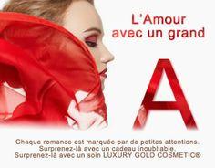 Des offres pour la Saint Valentin. Suivez LUXURY GOLD COSMETIC sur Google+ Romance, Cosmetics, Luxury, Google, Movie Posters, Beauty Products, Film Poster, Popcorn Posters, Romantic Things