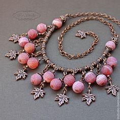 Crystal Bead Necklace, Diy Necklace, Necklace Designs, Bead Jewellery, Wire Jewelry, Pendant Jewelry, Handmade Pearl Jewelry, Artisan Jewelry, Felt Bracelet