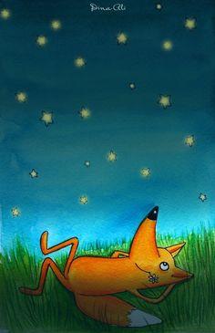 Dina Ali - Fox Stargazing