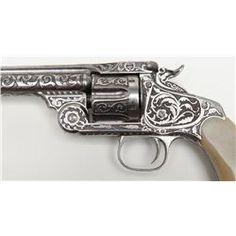 Presentation Smith & Wesson New Model No. 3 Single Action revolver to Venustiano Carranza in 1915 a
