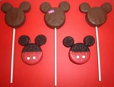 Mickey Mouse lolly's