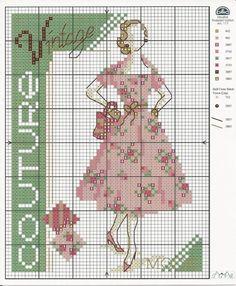 Gallery.ru / Фото #64 - Kanaviçe-Cross Stitch Card Collection Maria Diaz-2014 - tymannost