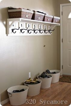 Hipster home New Shoe Organization Diy Closet Small Spaces Entryway 47 Ideas Small Coat Closet, Small Closet Space, Small Closets, Coat Storage Small Space, Shoe Closet, Shoe Storage Ideas For Small Spaces, Storage Spaces, Closet Mudroom, Open Closets