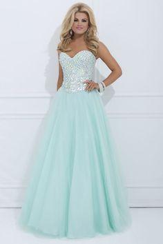 sweetheart prom dress, #long