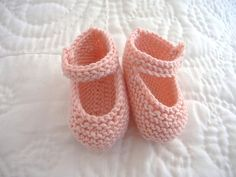 Baby cashmerino bootees by Octavia_pink, Ravelry