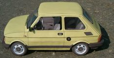 Fiat 126P Maluch Paper Car Free Vehicle Paper Model Download