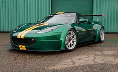 Lotus Reveals New Evora GTC Race Car Headed