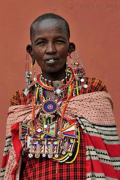 The men in the Maasai tribe, Kenya, are born and raised to be warriors…